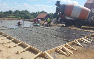 Фундамент на насыпном грунте — ремонт в доме