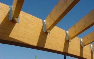 Крепеж для бруса — ремонт в доме