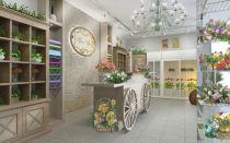 Дизайн цветочного магазина — ремонт в доме