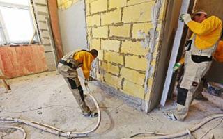 Способы механизации штукатурных работ — ремонт в доме