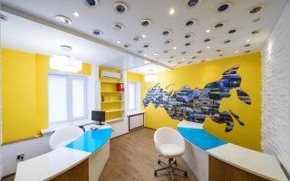 Дизайн офиса турагентства — ремонт в доме
