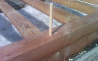 Нагели для бруса — ремонт в доме