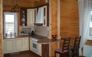 Внутренняя отделка домов из бруса — ремонт в доме