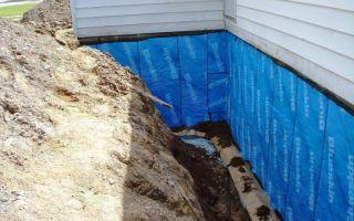 Пленка для гидроизоляции фундамента — ремонт в доме