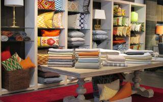 Дизайн магазина постельного белья — ремонт в доме