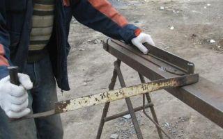 Как согнуть арматуру, лист металла и т.д. не имея специального инструмента – ремонт в доме