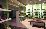 Дизайн магазина обуви — ремонт в доме