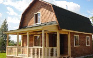 Дом из бруса с террасой — ремонт в доме