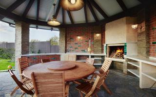 Беседка с мангалом – ремонт в доме