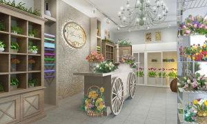 Дизайн цветочного магазина – ремонт в доме