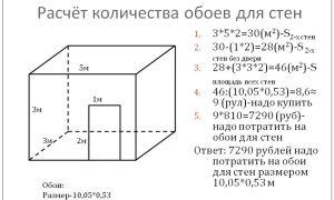 Калькулятор расчёта количества обоев для стен – ремонт в доме