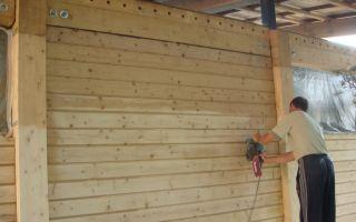 Шлифовка стен из бруса – ремонт в доме