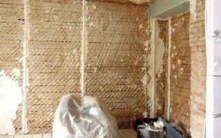 Оштукатуривание деревянных оснований – ремонт в доме