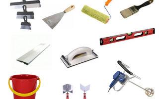 Инструменты для штукатурки стен – ремонт в доме