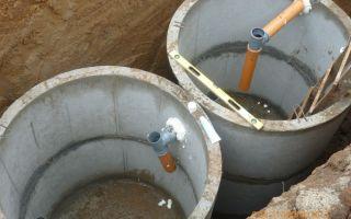 Септик из бетонных колец – ремонт в доме