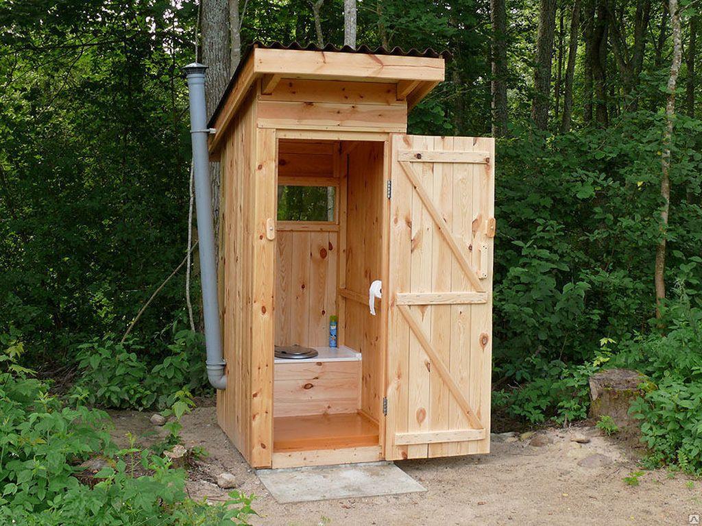 Туалет на даче своими руками картинки