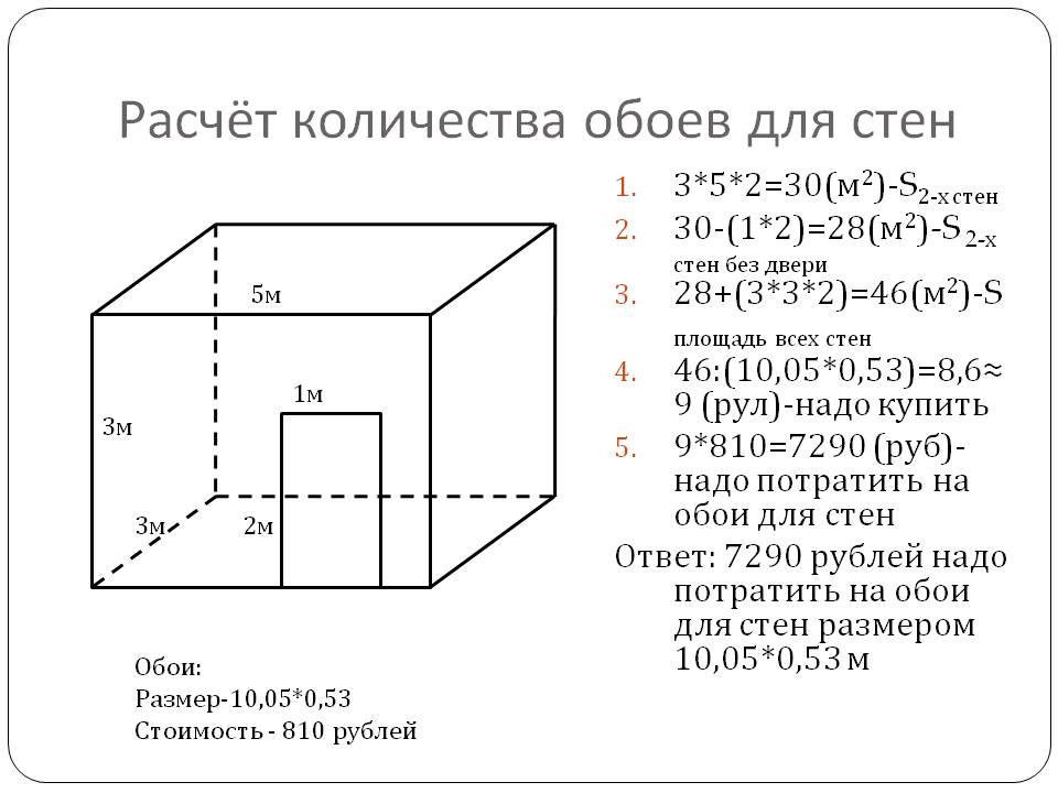 Калькулятор расчета обоев на комнату – как посчитать сколько нужно рулонов